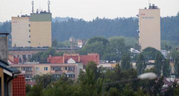 Kolejny cel – bloki przy Al. Warszawskiej (odległość ok 3600m) ognisko SW Ed 120